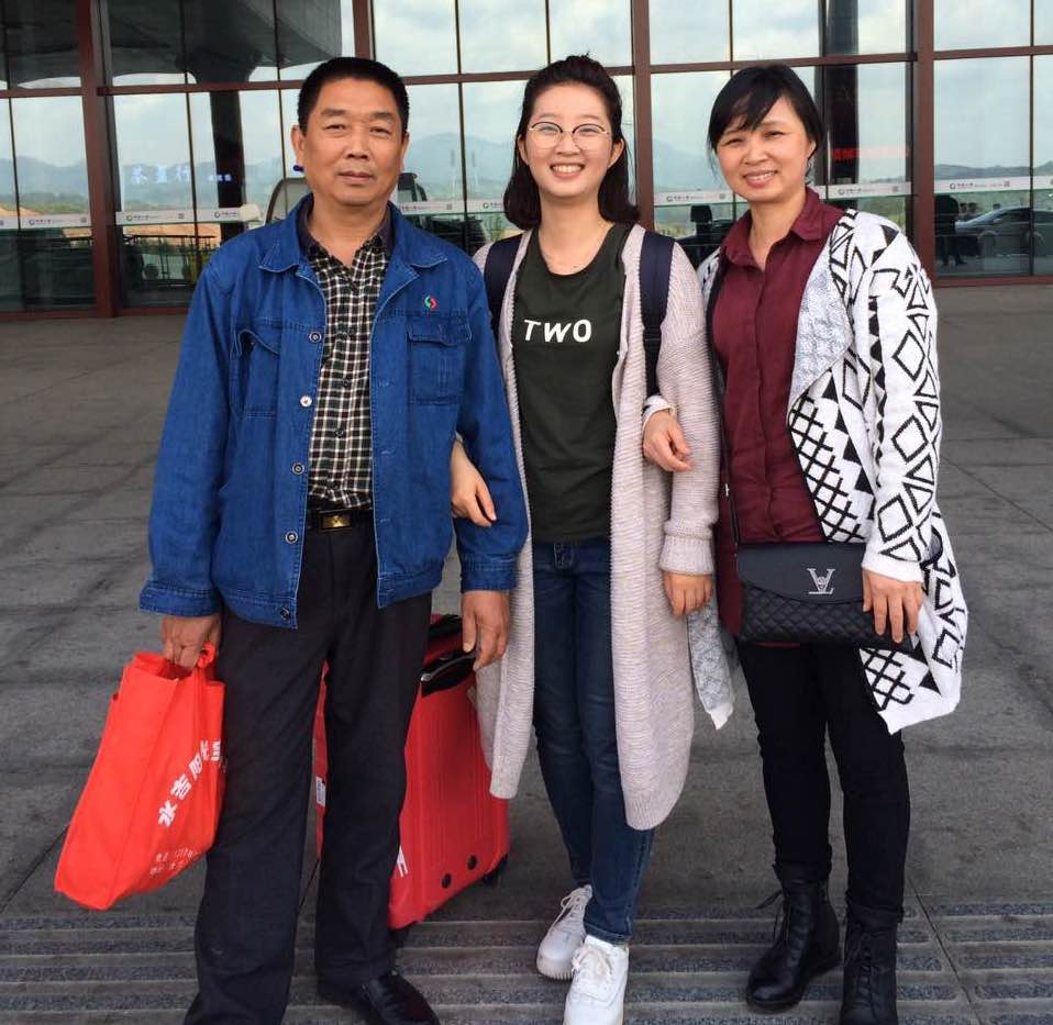 The Zhang family.