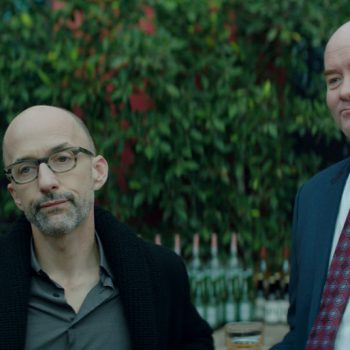 """Man On Man: Dan Mirvish On Unearthing Jules Feiffer's """"Bernard And Huey"""""""